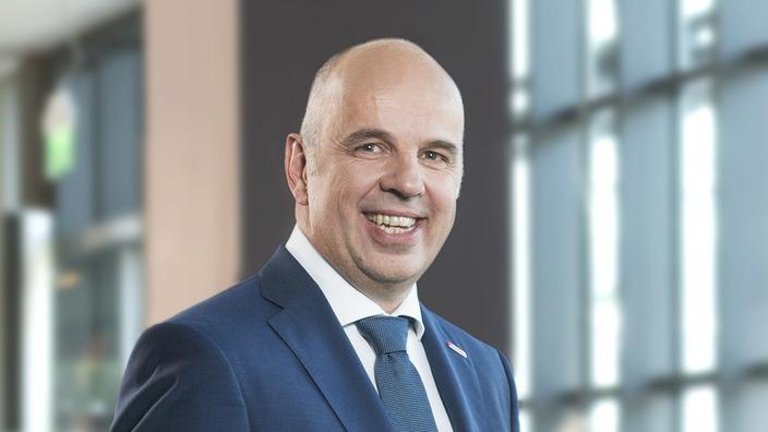 Profilbild Stefan Füll, Verwaltungsratsvorsitzender der IKK classic