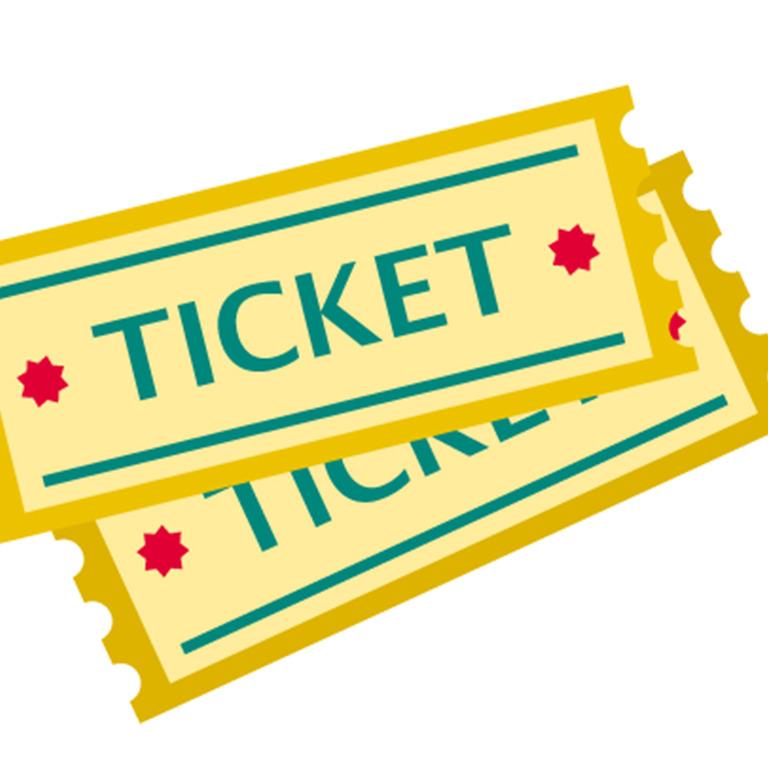 zwei Tickets für eine Veranstaltung