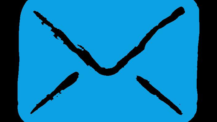 gezeichneter Briefumschlag