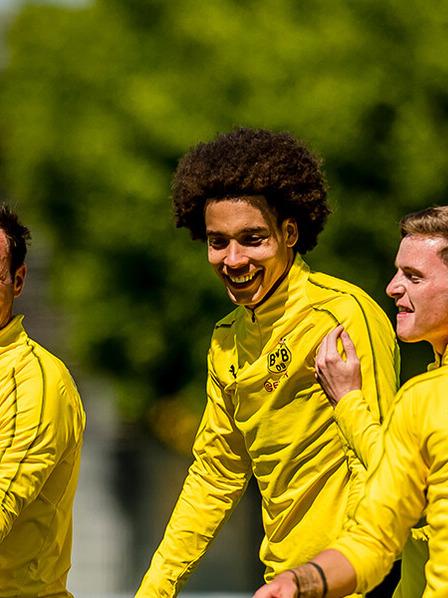 BVB-Spieler beim Training