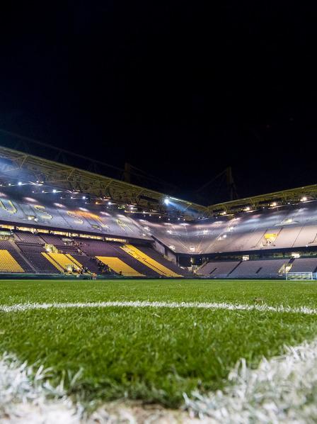 Blick ins Fußballstadion des BVB