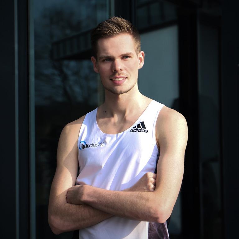 Sebastian Hendel, Deutscher Leichtathletik-Meister 2018 beim 5.000 und 10.000 Meter-Lauf.