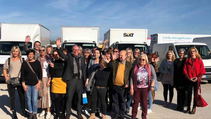 Gruppenbild Teilnehmer HairShuttle aus Kulmbach, Kronach und Bayreuth