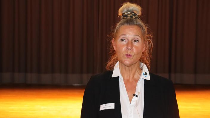 Gesundheitsmanagerin Ruth Amereller erklärt das betriebliche Gesundheitsmanagement