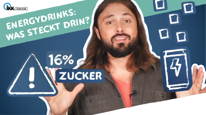 Screen aus dem Achim Sam Video zu Energy Drinks