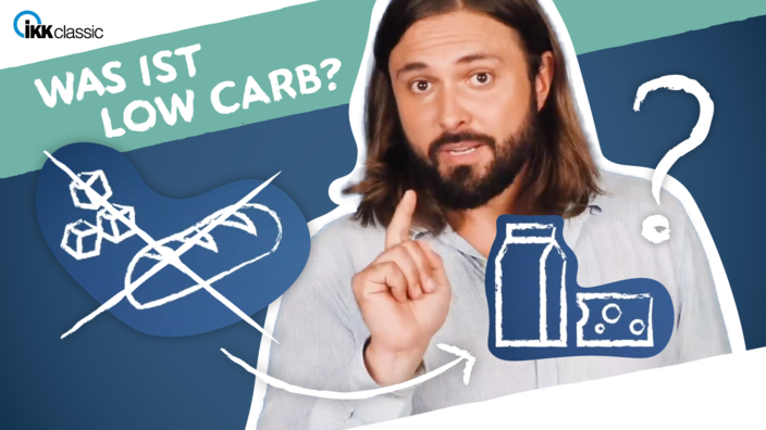 Startscreen des Low-Carb-Videos