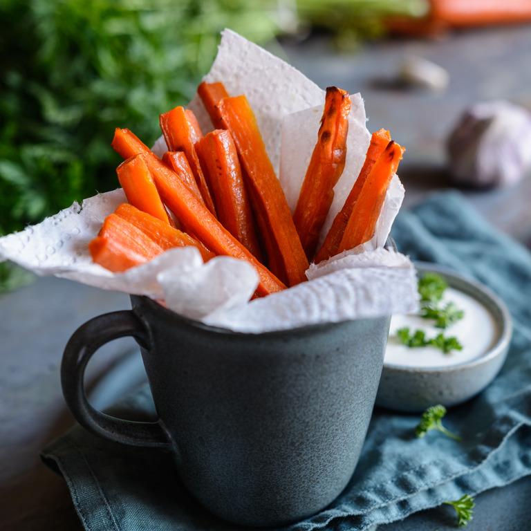 Karottenpommes