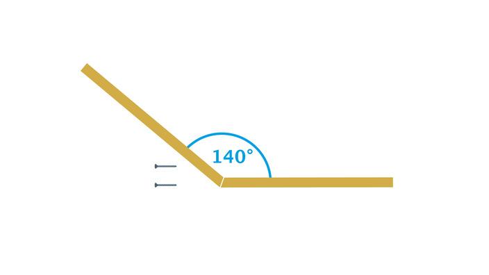 Verbindung der Dachhälften