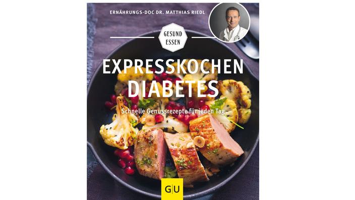 """Buchcover """"Expresskochen Diabetes"""""""