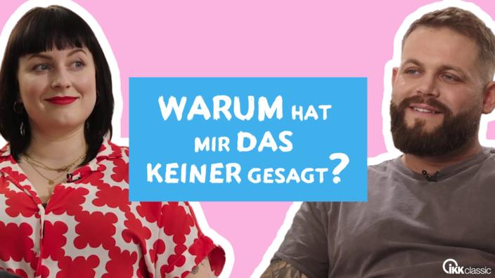 """Toyah Diebel und Michael Muley, Protagonisten der YouTube-Serie rund um Schwangerschaft und Geburt """"Warum hat mir das keiner gesagt?"""""""