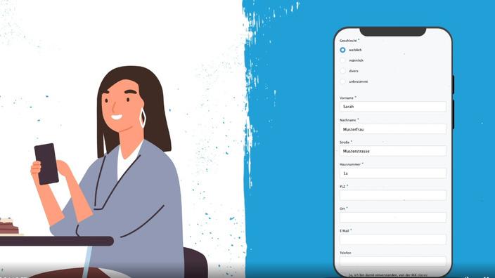 Startscreen des Erklärvideos zur Werbeprämie