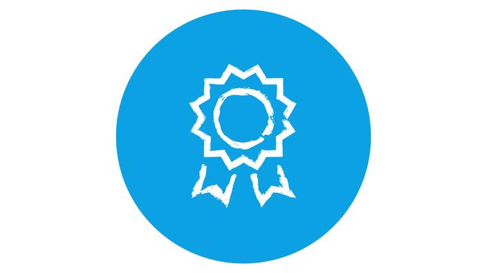 Icon einer Auszeichnung